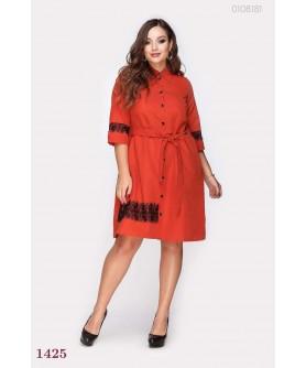 Платье Перудта (кирпичный) 0108181