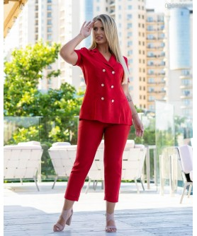 Женский костюм Хилтон (красный) 0303201