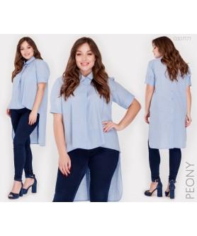 Женская рубашка Урбино (голубой) 0307171