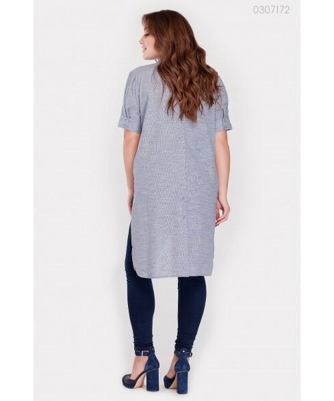 Женская рубашка Урбино (серый) 0307172