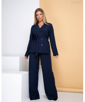 Женский костюм Амстердам (синий) 0308201