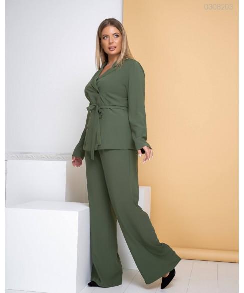 Женский костюм Амстердам (хаки) 0308203