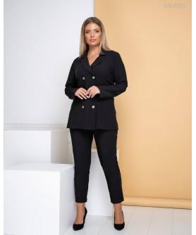 Женский костюм Нью-Йорк (чёрный) 0408201
