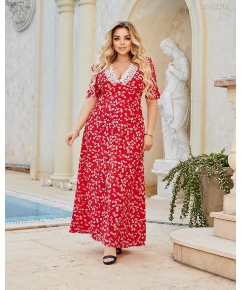 Платье Миккели (красный) 0503214