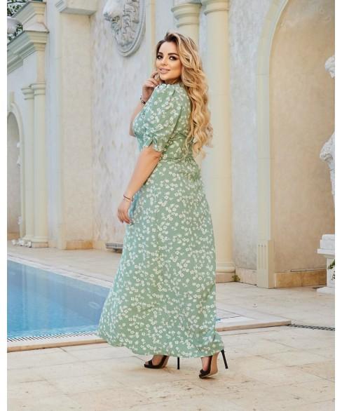 Платье Миккели (шалфей) 0503216