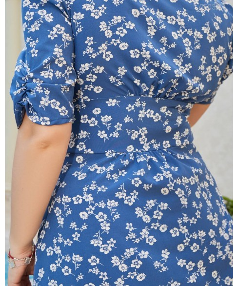 Платье Миккели (индиго) 0503217