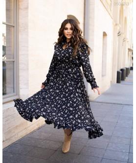 Платье Сейбл (чёрный) 0504213