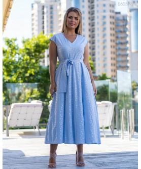 Платье Павия (голубой) 0603192