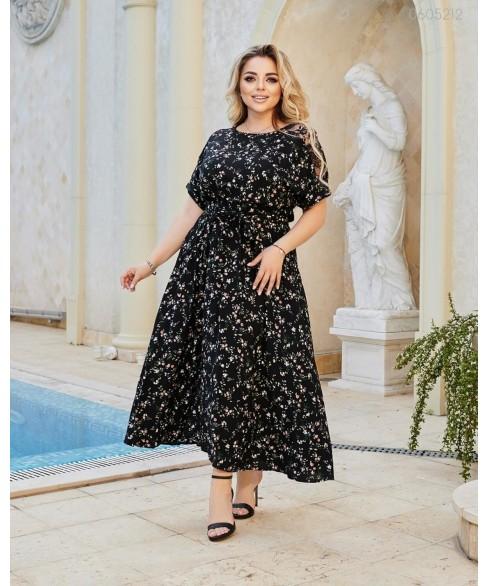 Платье Мадрид (чёрный) 0605212