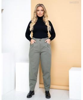 Женские брюки Брюки №3 (хаки) 0610203