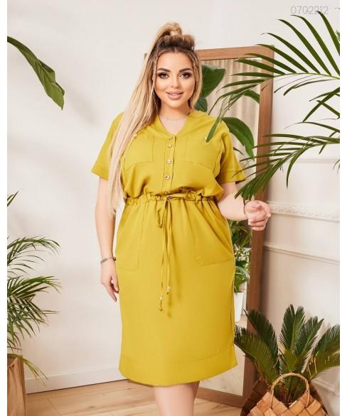 Платье Танзания (лайм) 0702212
