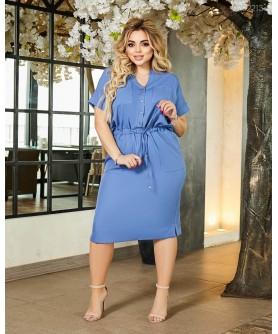 Платье Танзания (индиго) 0702213