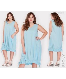 Платье Корсика (голубой) 0703173
