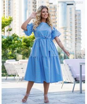 Платье Мауи (голубой) 0705202