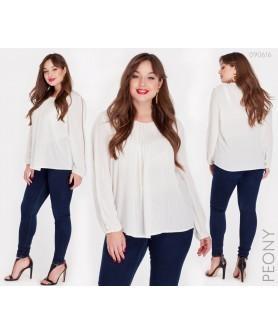 Блузка Парма (белый) 090616