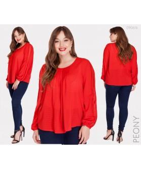 Блузка Парма (красный) 090616