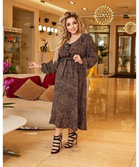 Платье Асенсьон (чёрный) 1002212