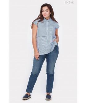 Блузка Аден (голубой) 1005182