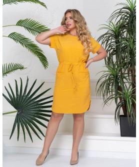 Платье Адаха (жёлтый ) 1005202