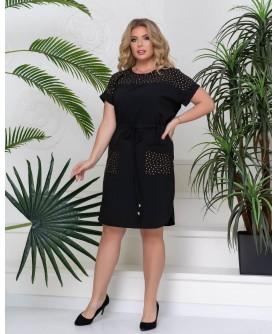 Платье Адаха (чёрный) 1005203