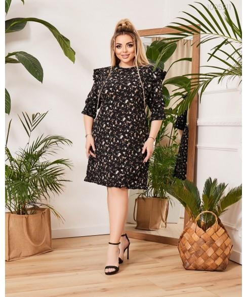 Платье Портофино (чёрный) 1005211