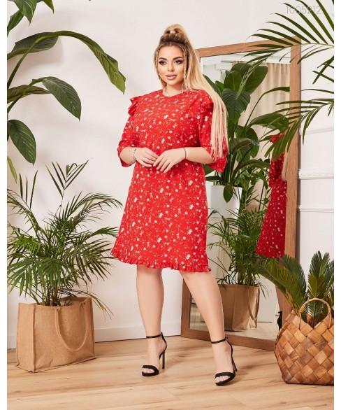 Платье Портофино (красный) 1005212