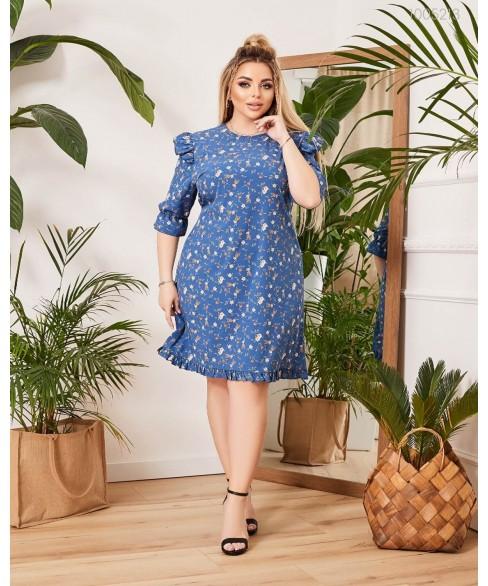 Платье Портофино (индиго) 1005213