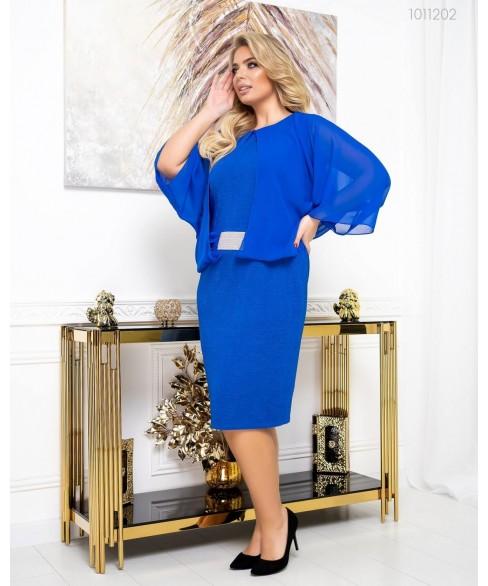 Платье Эмилия (электрик) 1011202