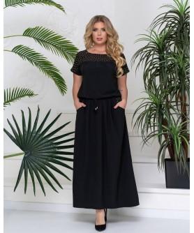 Платье Джела (чёрный) 1105201