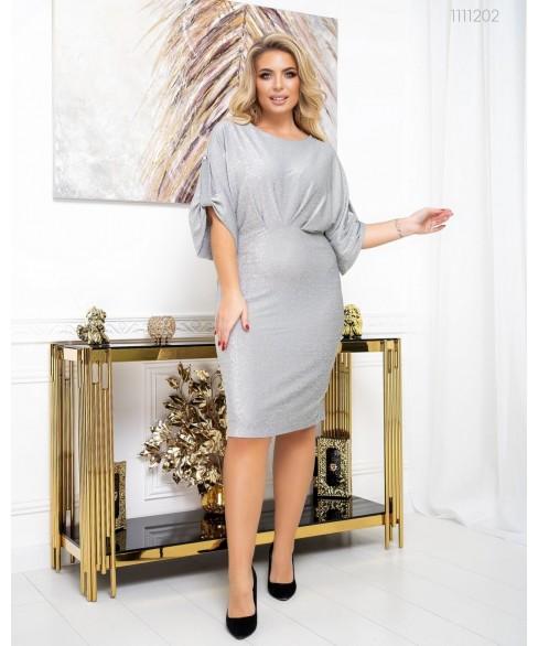 Платье Ницца (серебряный) 1111202