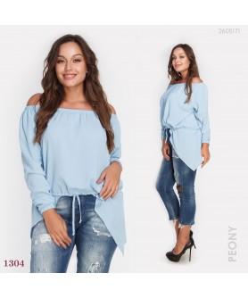 Блузка Кальяри-1 (голубой) 1207181