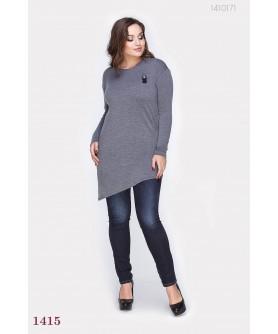 Женская туника Элджин (серый) 1410171