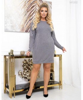 Платье Хортен (серый) 1411202