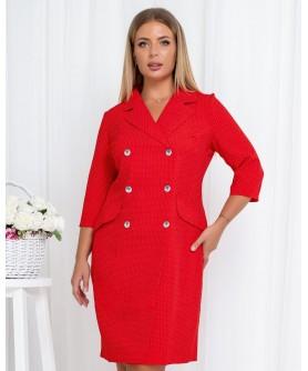 Платье 1869 (красный) 1869-красный