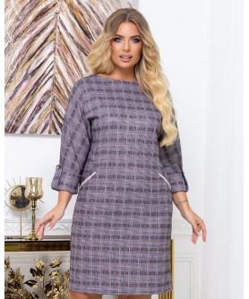 Платье 2029 (серый) 2029-серый