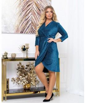 Платье 2031 (бирюза) 2031-бирюза