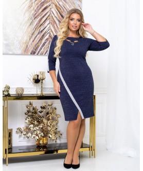 Платье 2028 (синий) 2028-синий