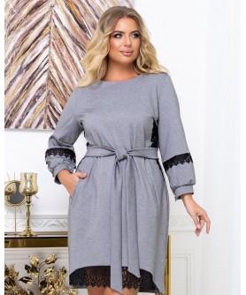 Платье 1920 (серый) 1920-серый