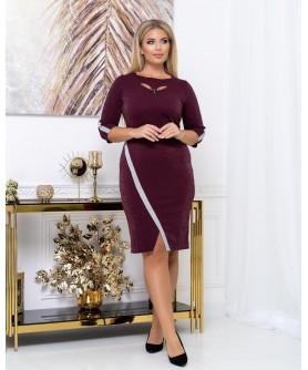 Платье 2028 (бордо) 2028-бордо