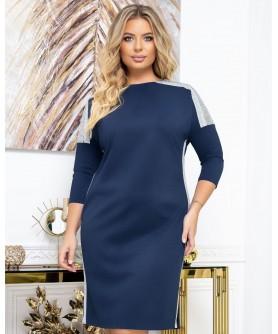 Платье 2033 (синий) 2033-синий