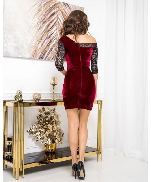 Платье 1618 (бордо) 1618-бордо