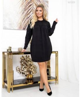 Платье Мюсен (чёрный) 1611201