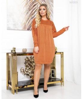 Платье Мюсен (терракотовый) 1611203