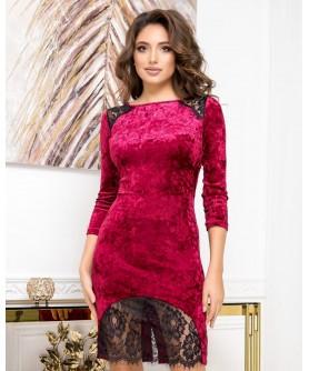 Платье 1516 (бордо) 1516-бордо