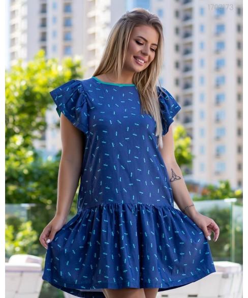 Платье Терни (бирюза) 1703173