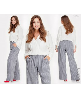 Женские брюки Атенс - 1 (серый) 170918