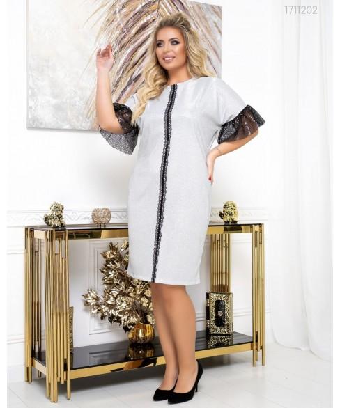 Платье Вена (серебряный) 1711202