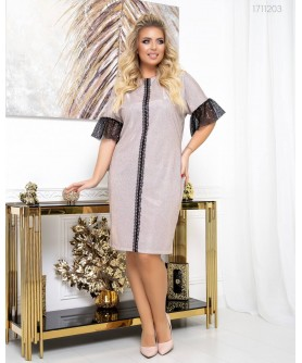 Платье Вена (пудровый) 1711203