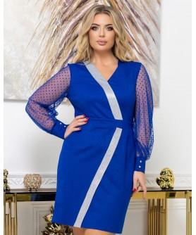 Платье 2037 (электрик) 2037-электрик