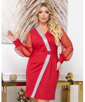 Платье 2037 (красный) 2037-красный